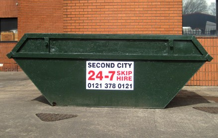 Don't panic, business clients can have the skip they need, when they need it, 24 hours a day, 7 days a week!